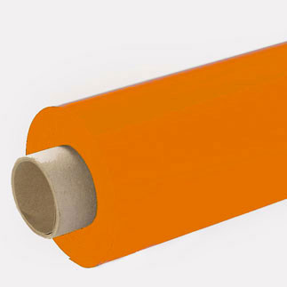 Lackfolie orange (Rollenware) - 65 cm