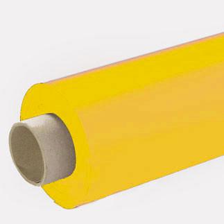 Lackfolie sonnengelb (Rollenware) - 65 cm