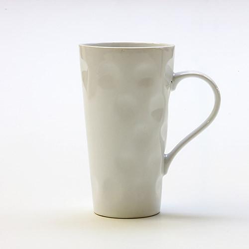 Dubbetasse, weiß, 0,5 Liter