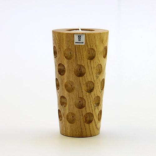 Holzteelicht DUBBE, groß, 0,5 Liter