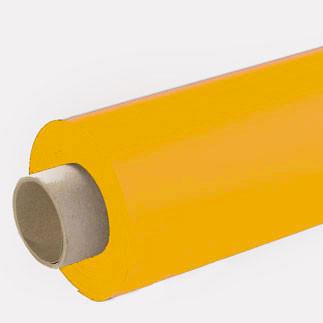 Lackfolie gelb (Rollenware) - 65 cm
