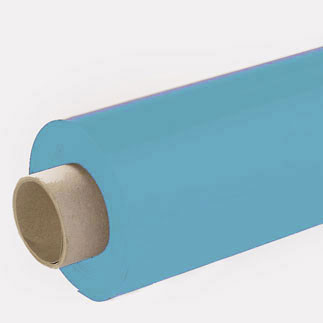 Lackfolie hellblau (Rollenware) - 65 cm