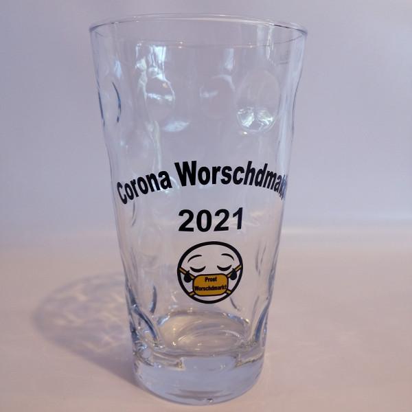 Corona Dubbeglas 2021 0,5 Liter (limitiert)