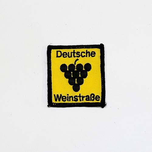 """Abzeichen """"Deutsche Weinstraße"""", klein"""