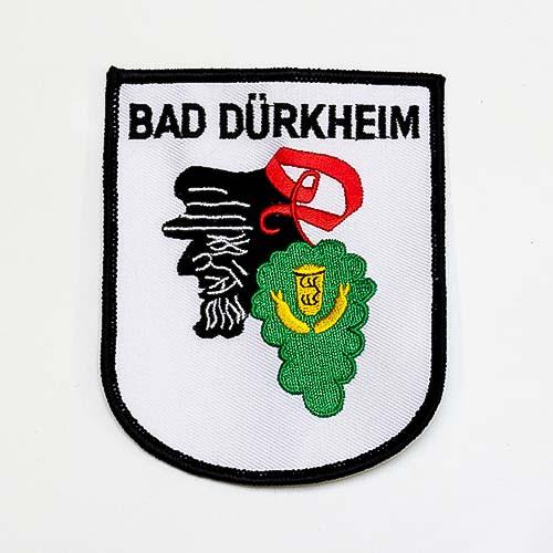 """Abzeichen """"Bad Dürkheim mit Winzerkopf"""""""