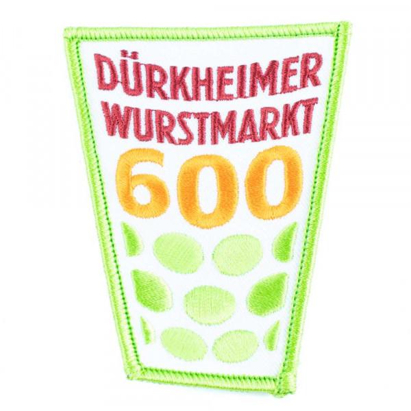 """Abzeichen """"Dürkheimer Wurstmarkt"""", 600 Jahre, groß"""