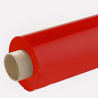 Lackfolie rot (Rollenware) - 130 cm