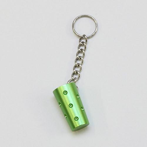 Schlüssel-Dubbeanhänger, grün