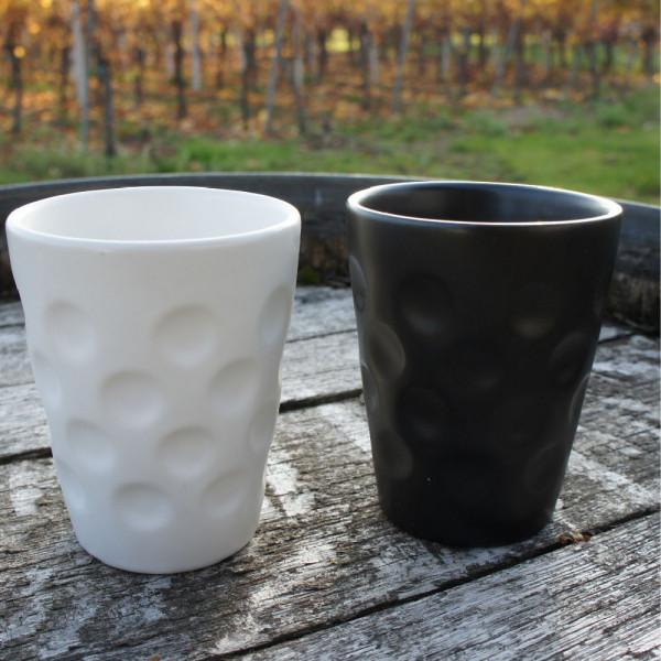 Dubbebecher aus Keramik