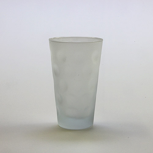 Dubbeglas satiniert, 0,25 Liter
