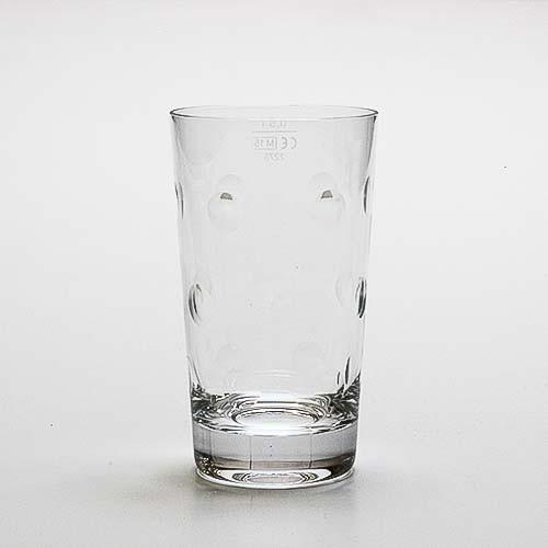 """Dubbeglas """"Kristallglas"""" - handgeschliffen, 0,5 Liter"""
