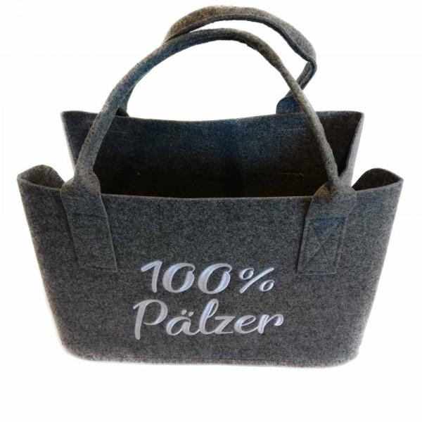 Einkaufstasche aus Filz mit 100% Pfälzer