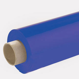 Lackfolie blau (Rollenware) - 65 cm