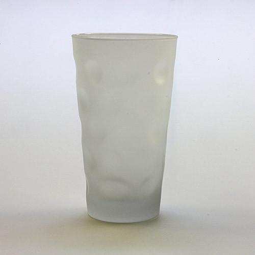 Dubbeglas satiniert, 0,5 Liter