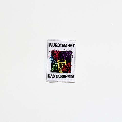 """Abzeichen """"Dürkheimer Wurstmarkt Feuerwerk"""", klein"""