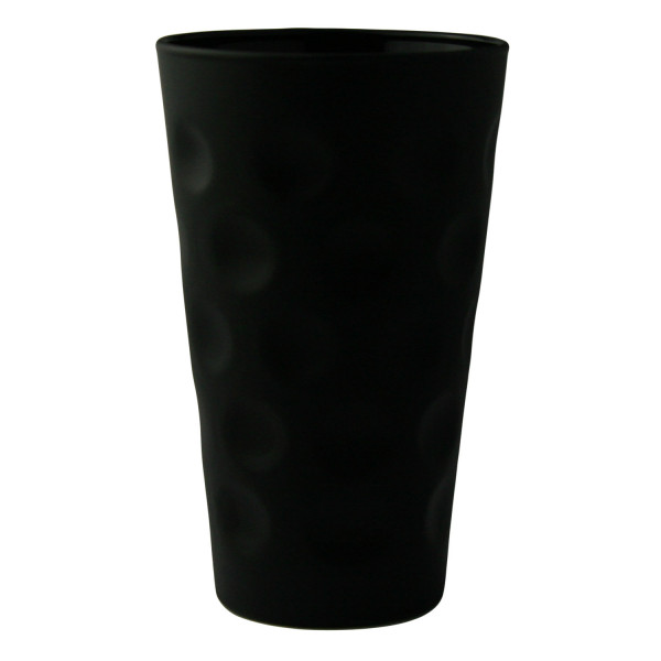 Farbiges Dubbeglas pink, 3/4 gefärbt, 0,25 Liter